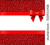template for christmas greeting ... | Shutterstock .eps vector #533921908