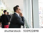 asian man in business look. | Shutterstock . vector #533922898