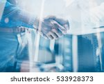double exposure concept.close... | Shutterstock . vector #533928373