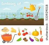 garden colorful designs... | Shutterstock .eps vector #533929018
