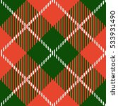 christmas tartan seamless... | Shutterstock .eps vector #533931490