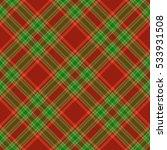 christmas tartan seamless... | Shutterstock .eps vector #533931508