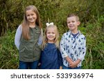 three kids who are siblings in...   Shutterstock . vector #533936974