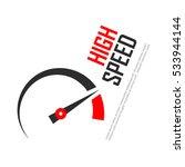 High Speed Vector Logo...
