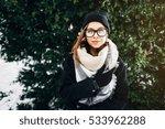 portrait of a beautiful girl... | Shutterstock . vector #533962288