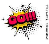 lettering go  emotion  create ... | Shutterstock .eps vector #533964418