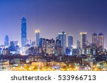 kaohsiung city night view | Shutterstock . vector #533966713
