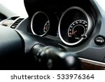 close up image of car speed... | Shutterstock . vector #533976364
