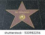 hollywood  ca   december 06 ... | Shutterstock . vector #533982256