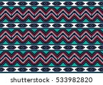 geometric ethnic pattern... | Shutterstock .eps vector #533982820