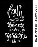 faith does not make things easy ...   Shutterstock .eps vector #533990344