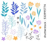 leaf illustration object   Shutterstock .eps vector #533995774