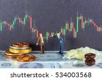 two traders are making... | Shutterstock . vector #534003568