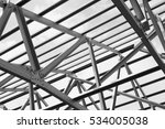 black and white photo structure ... | Shutterstock . vector #534005038