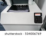 close up printer output tray... | Shutterstock . vector #534006769