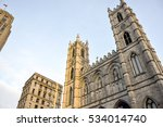 basilica notre dame with three... | Shutterstock . vector #534014740