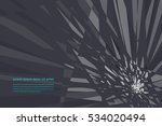 breaking futuristic design... | Shutterstock .eps vector #534020494