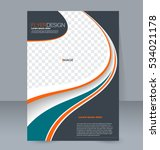 abstract flyer design... | Shutterstock .eps vector #534021178