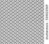 silver wire fence  3d... | Shutterstock . vector #534023569