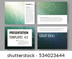 set of business templates for... | Shutterstock .eps vector #534023644