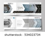 set of business templates for... | Shutterstock .eps vector #534023734