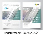 templates for brochure ... | Shutterstock .eps vector #534023764