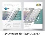 templates for brochure ... | Shutterstock .eps vector #534023764