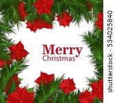 christmas borders | Shutterstock .eps vector #534025840