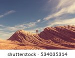 hike in the utah mountains | Shutterstock . vector #534035314