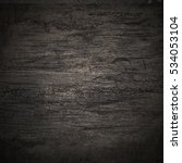 pattern black wall wood texture ... | Shutterstock . vector #534053104