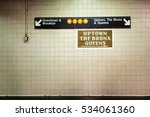 subway sign | Shutterstock . vector #534061360