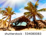 anse source d'argent  la digue... | Shutterstock . vector #534080083