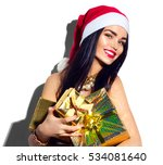 Beauty Christmas Fashion Model...