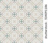 seamless vector retro pattern.... | Shutterstock .eps vector #534091186