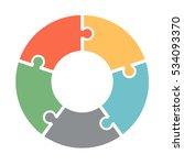 infographics. vector diagram.... | Shutterstock .eps vector #534093370