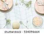beauty or cosmetics gift set...   Shutterstock . vector #534096664