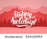 vector illustration ... | Shutterstock .eps vector #534103993