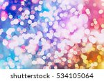 christmas abstract de focused   Shutterstock . vector #534105064
