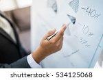 businessman analyzing... | Shutterstock . vector #534125068