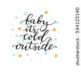 vector hand drawn lettering...   Shutterstock .eps vector #534125140