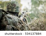 army soldier taking part in... | Shutterstock . vector #534137884