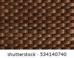 Bamboo Woven Brown Mat Handmade ...