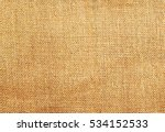 brown sack fabric texture... | Shutterstock . vector #534152533
