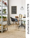 flat in industrial style with... | Shutterstock . vector #534157978