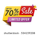 limited offer sala banner ... | Shutterstock .eps vector #534159208