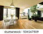 Open Spacious Room With Large...