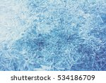 rime  frost  ice texture.  ice... | Shutterstock . vector #534186709