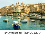 many beautiful boats in... | Shutterstock . vector #534201370