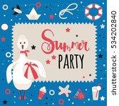 background for invitation or... | Shutterstock .eps vector #534202840
