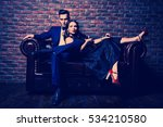 beautiful gorgeous couple in... | Shutterstock . vector #534210580